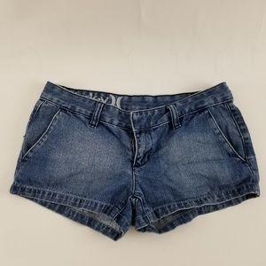 Juniors Hurley jean shortie shorts